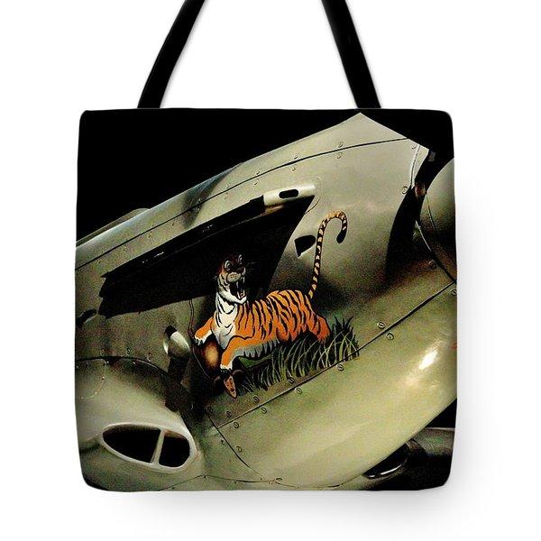 Yak 9 Tiger Tote Bag by Benjamin Yeager