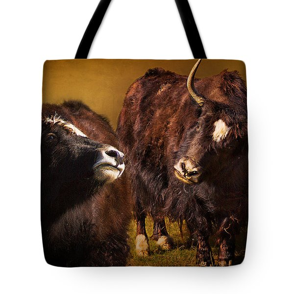 Yak Love Tote Bag