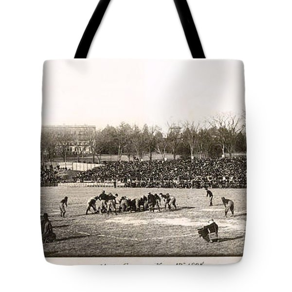 Yale Football Circa 1898 Tote Bag