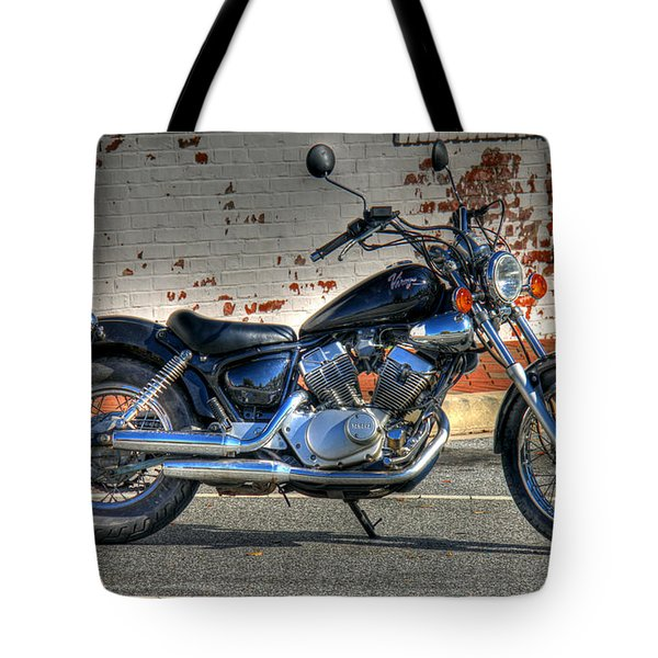 Yamaha Virago 01 Tote Bag by Andy Lawless