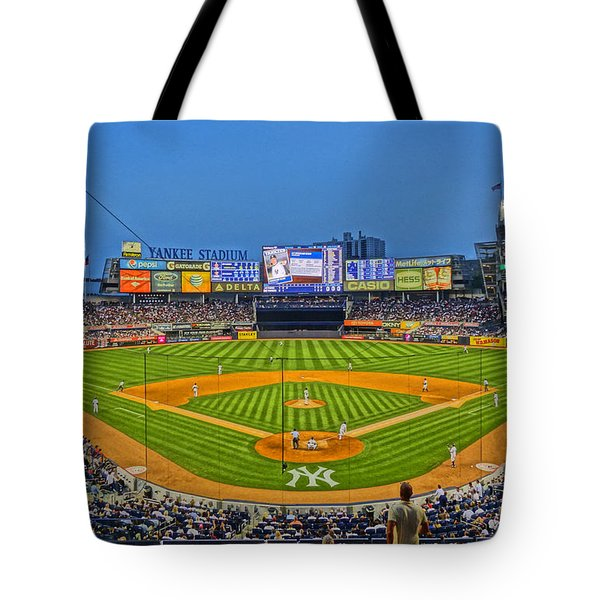 Yankee Stadium Tote Bag by Jeffrey Friedkin