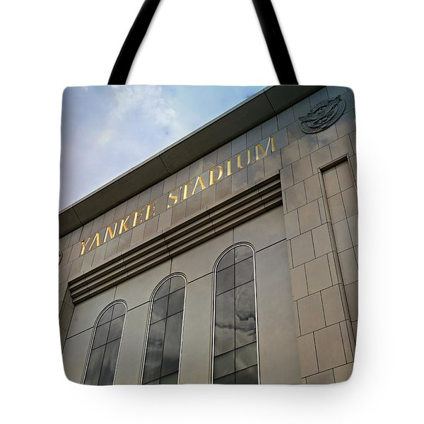 Yankee Stadium Tote Bag by Stephen Stookey