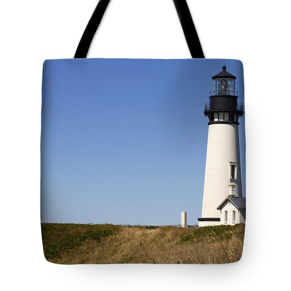 Yaquina Head Lighthouse 3 Tote Bag by David Gn