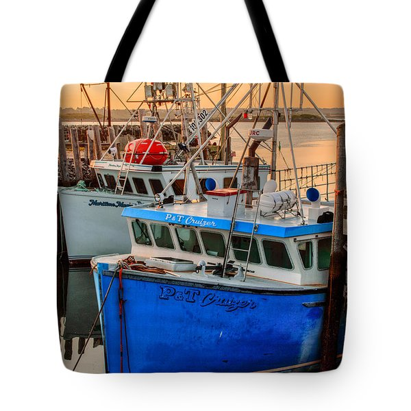 Yarmouth Harbour Tote Bag