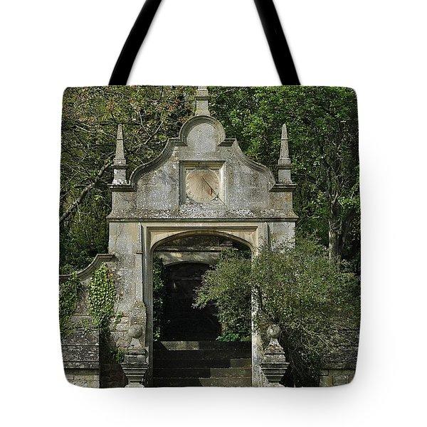 Yarnton Sundial Tote Bag by Joseph Yarbrough