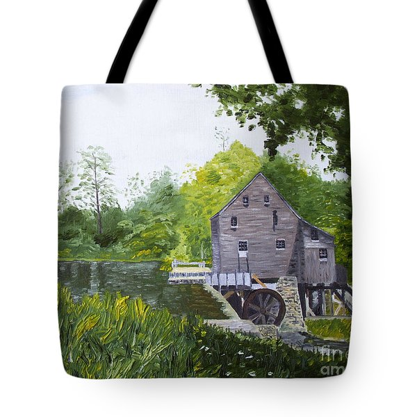 Yates Mill Summer Tote Bag by Kevin Croitz