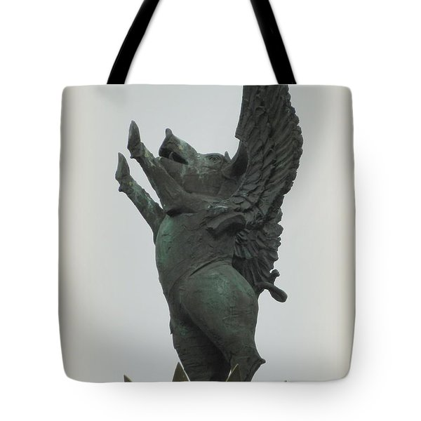 Yay Pigs Do Fly Tote Bag