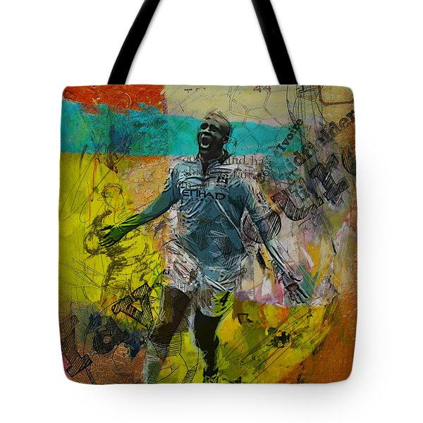 Yaya Toure - B Tote Bag