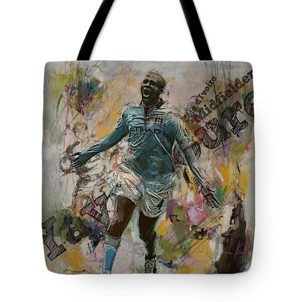 Yaya Toure Tote Bag