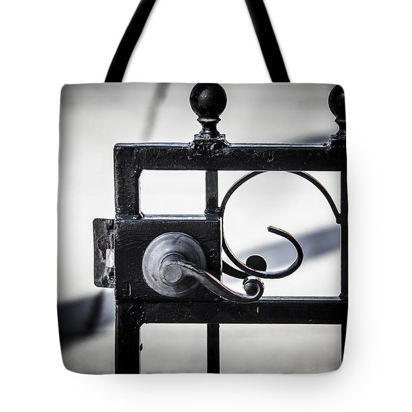 Ybor City Gate Tote Bag
