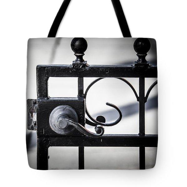 Ybor City Gate Tote Bag