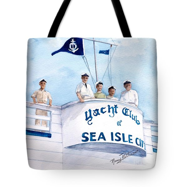 Ycsic Race Committee 2 Tote Bag by Nancy Patterson
