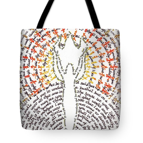Ye Are The Light Of The World Tote Bag