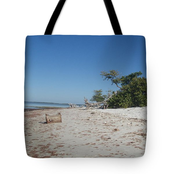 Tote Bag featuring the photograph Ye Olde Pirates Chest by Robert Nickologianis