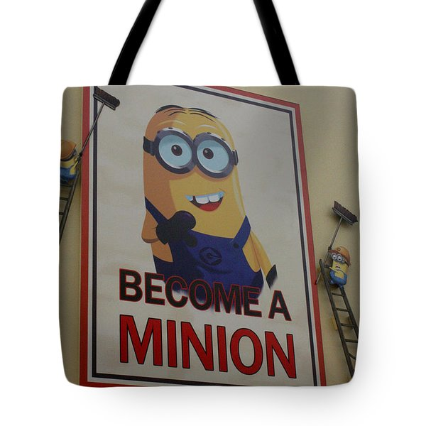 Year Of The Minions Tote Bag