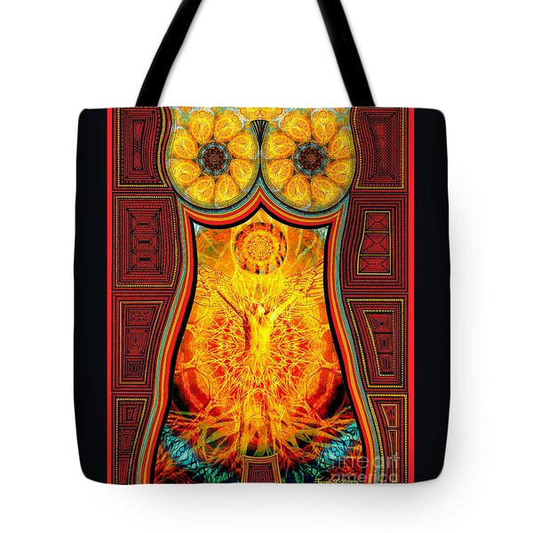 Yearning-spirit Rising Tote Bag by Joseph J Stevens