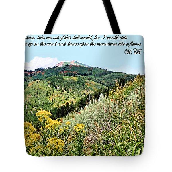 Yeats Tote Bag