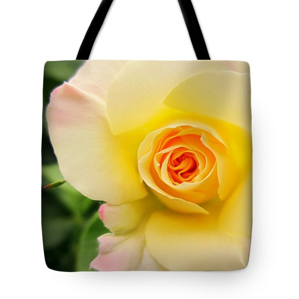 Yellow And Pink Beauty  Tote Bag