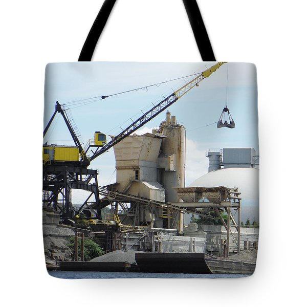 Yellow Crane Tote Bag