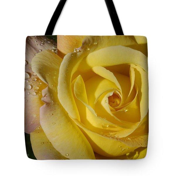 Yellow Crisp Tote Bag