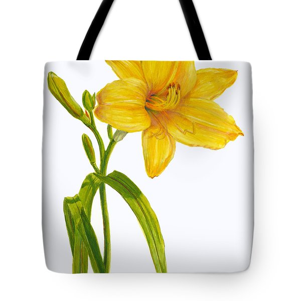 Yellow Daylily - Hemerocallis Tote Bag