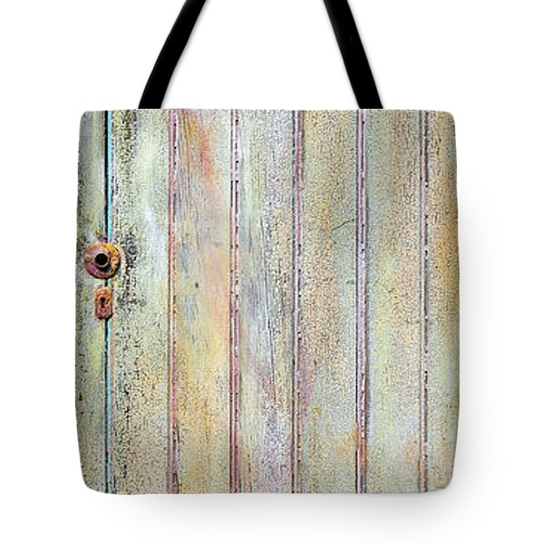 Yellow Door Tote Bag by Asha Carolyn Young