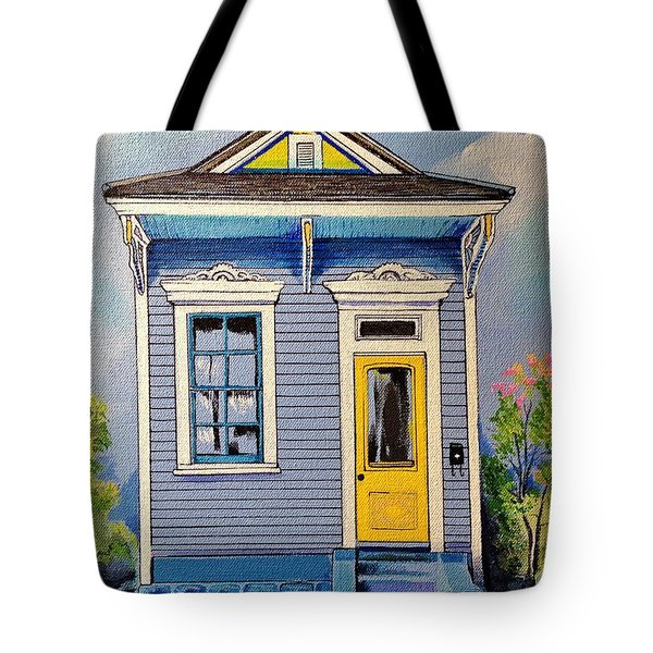 Yellow Door Shotgun  Tote Bag