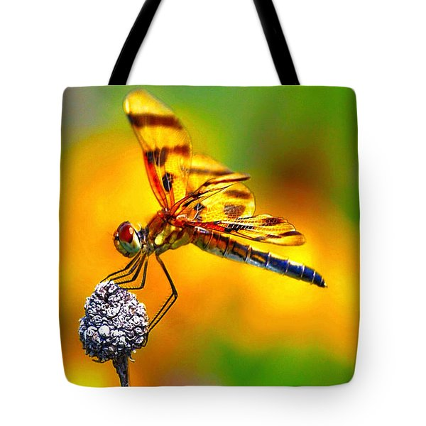 Yellow Dragon Tote Bag
