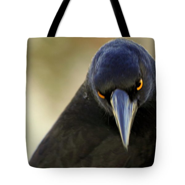Yellow Eyes Tote Bag
