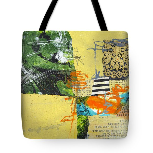 Yellow Field Tote Bag