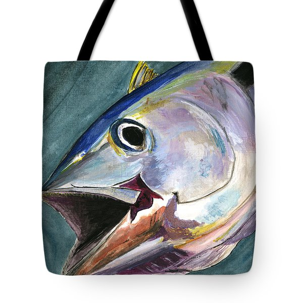 Yellow Fin Tote Bag