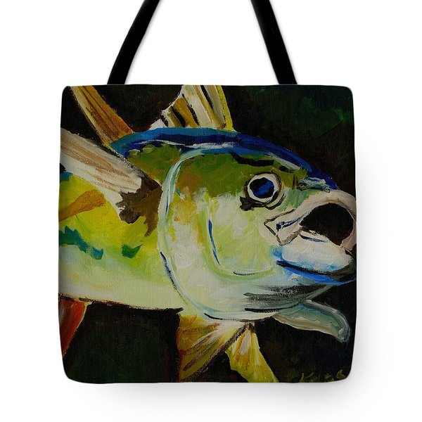 Yellow Fin Tuna Tote Bag