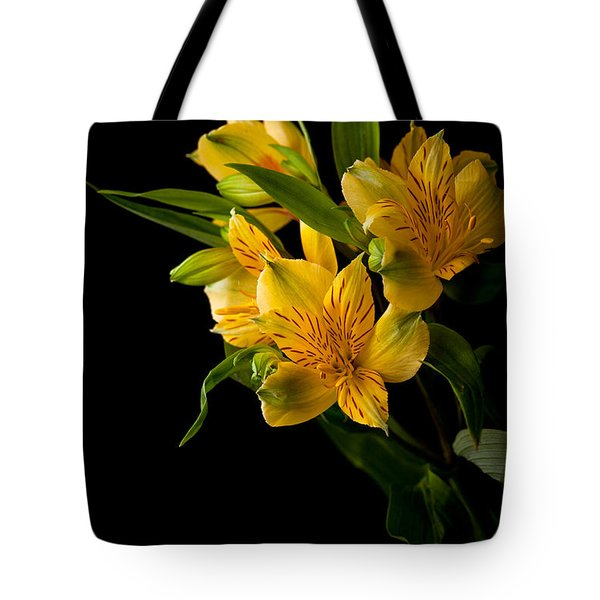 Tote Bag featuring the photograph Yellow Flowers by Sennie Pierson
