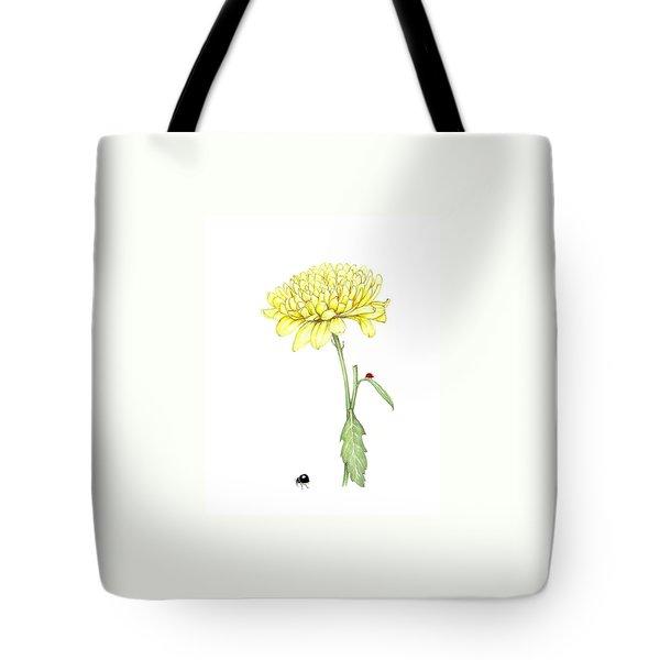 Yellow Fun Tote Bag by Heidi Kriel