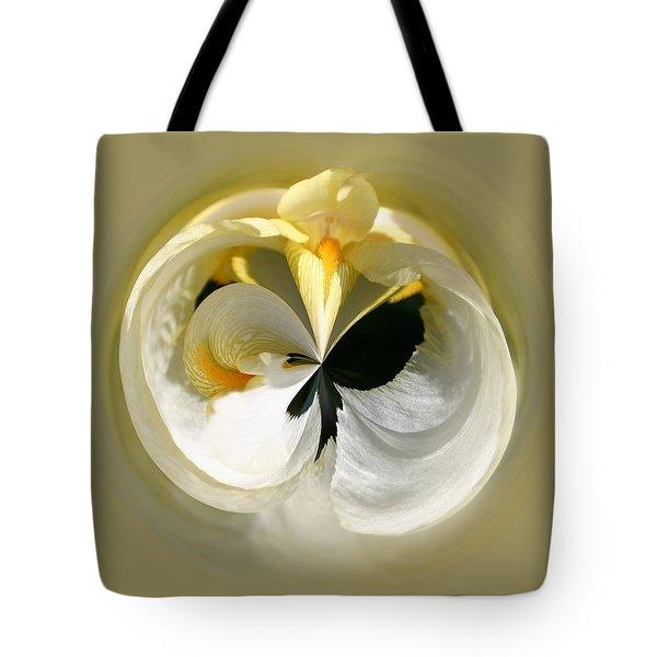 Yellow Iris 101 Tote Bag