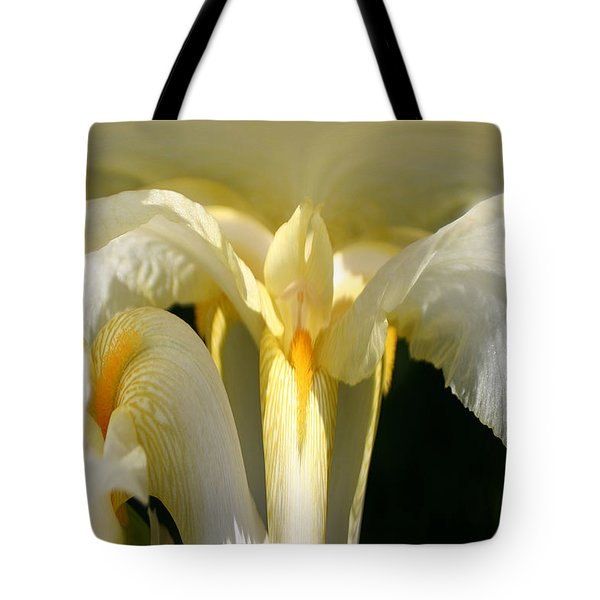 Yellow Iris 102 Tote Bag