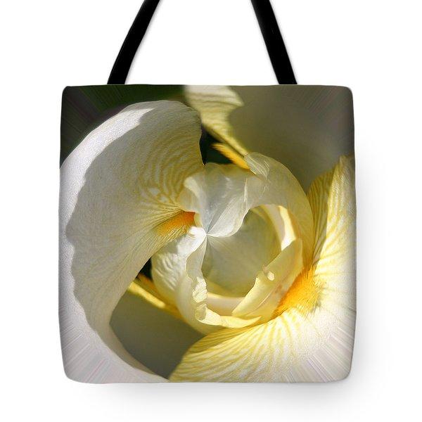 Yellow Iris 103 Tote Bag