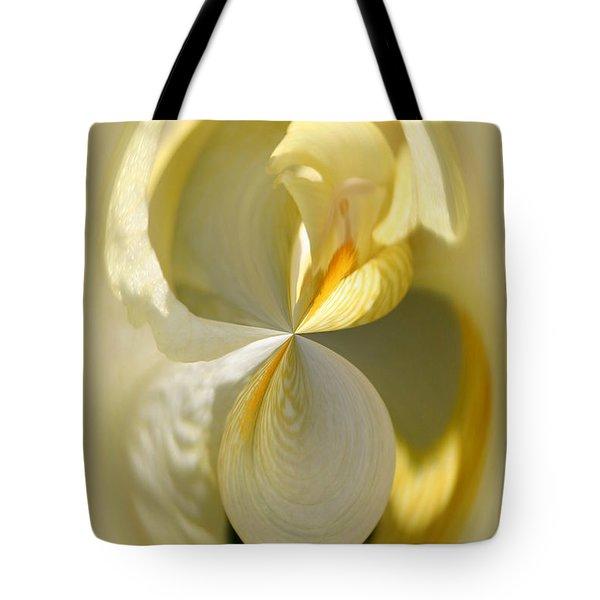 Yellow Iris Series 105 Tote Bag