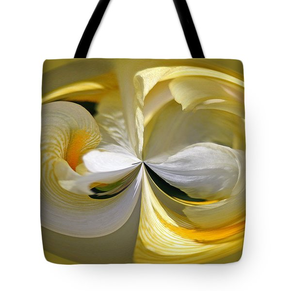 Yellow Iris Series 106 Tote Bag