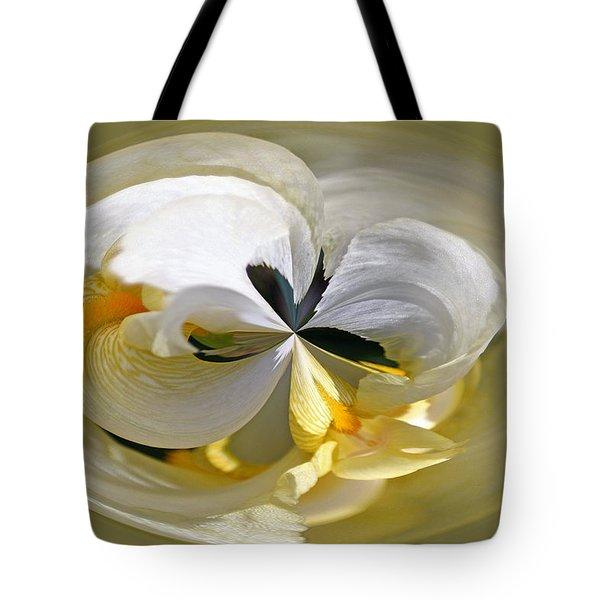 Yellow Iris Series 107 Tote Bag