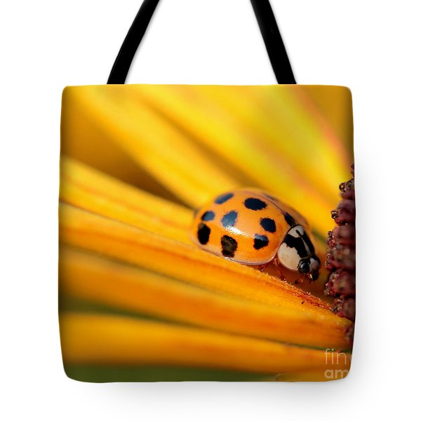 Yellow Lady - 1 Tote Bag by Kenny Glotfelty