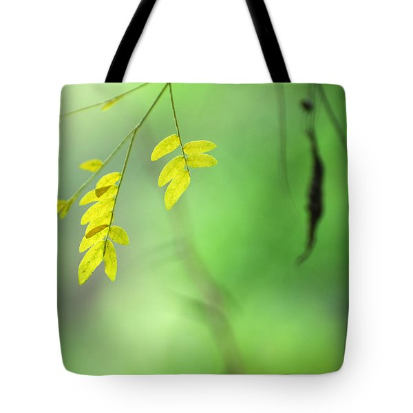 Yellow Leaves Tote Bag by Guido Montanes Castillo