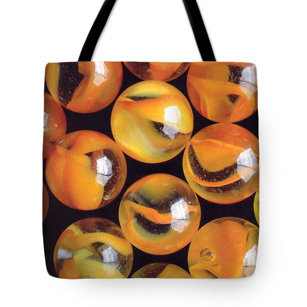 Yellow Marbles 2 Tote Bag