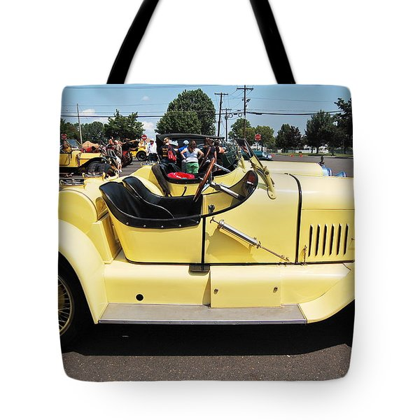 Yellow Mercer Tote Bag