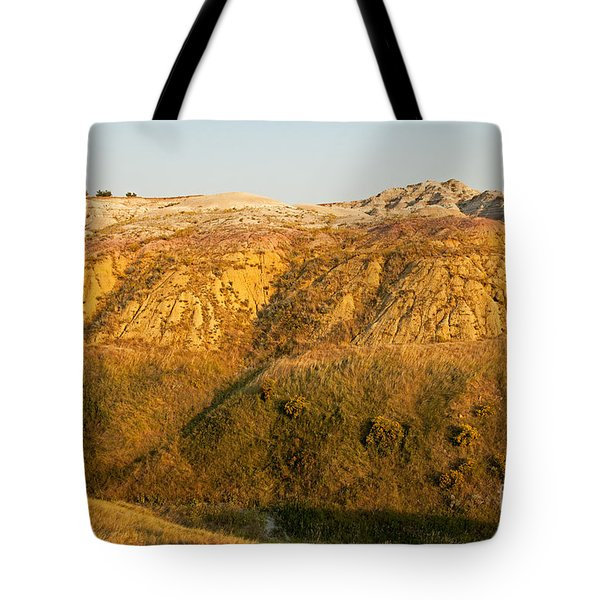Yellow Mounds Overlook Badlands National Park Tote Bag