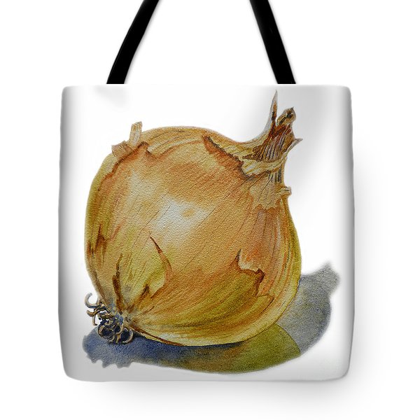 Yellow Onion Tote Bag by Irina Sztukowski