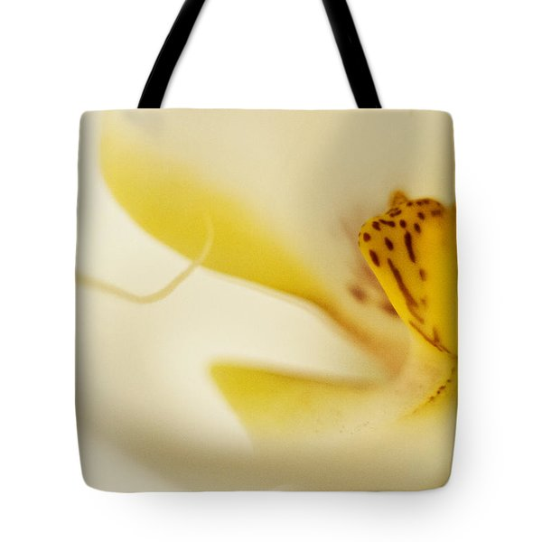 Yellow Orchid Tote Bag by Bradley R Youngberg