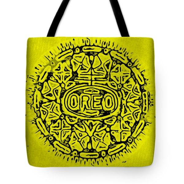 Yellow Oreo Tote Bag