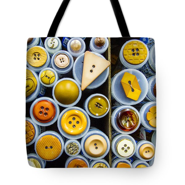 Yellow Palate Tote Bag