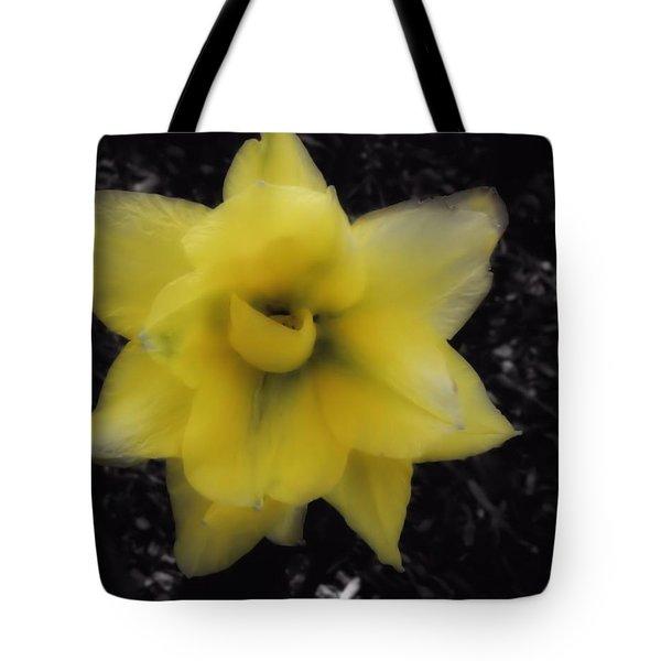 Yellow Parrot Tulip Tote Bag